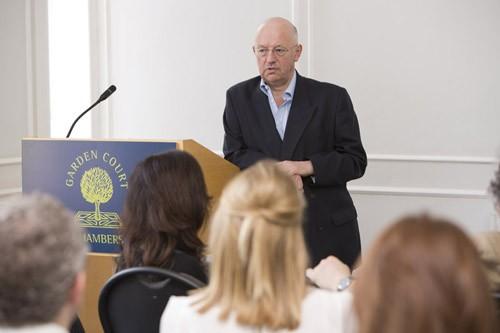 Patrick Roche giving seminar