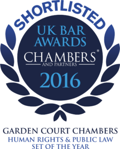 Chambers Bar Awards 2016: shortlisted