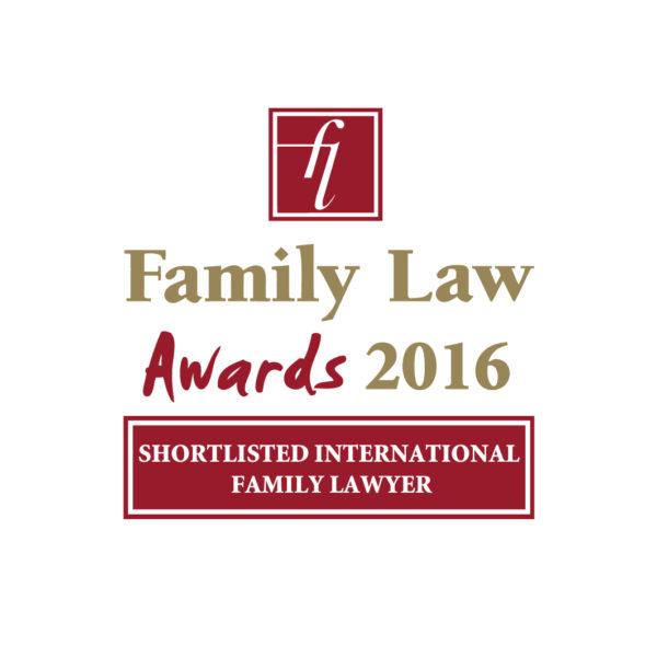 Family Law Awards 2016