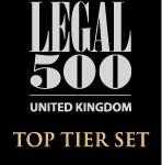 Legal 500 Top Tier Set 2014