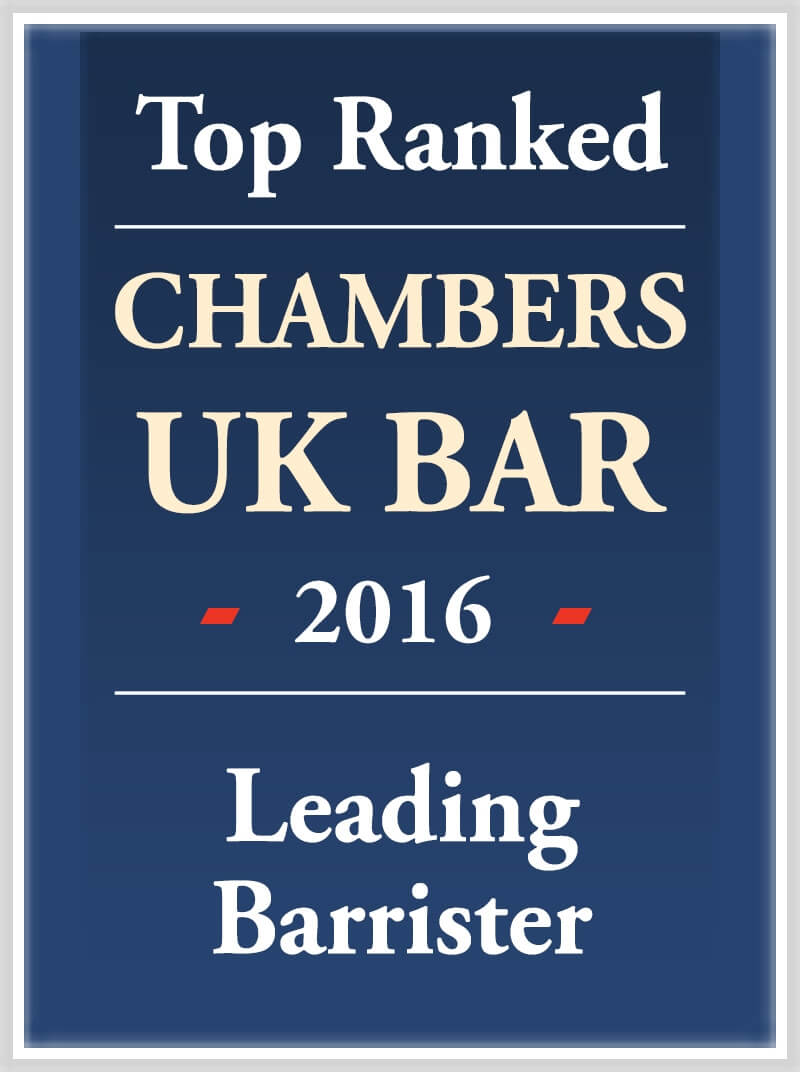 Top ranked in Chambers & Partners